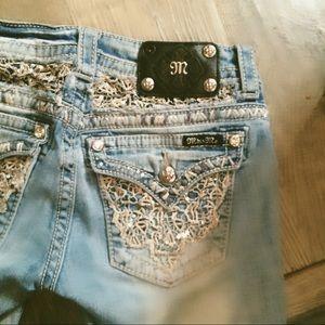 Miss Me cut-off jean shorts